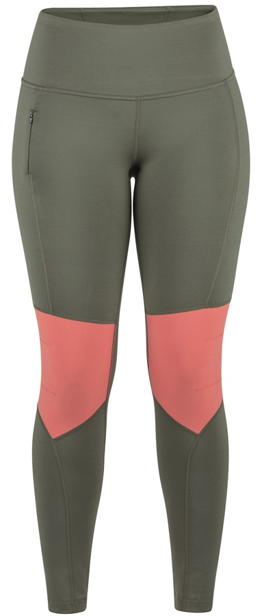 Marmot Trail Bender Tights Women's Leggings, XS Crocodile/Flamingo