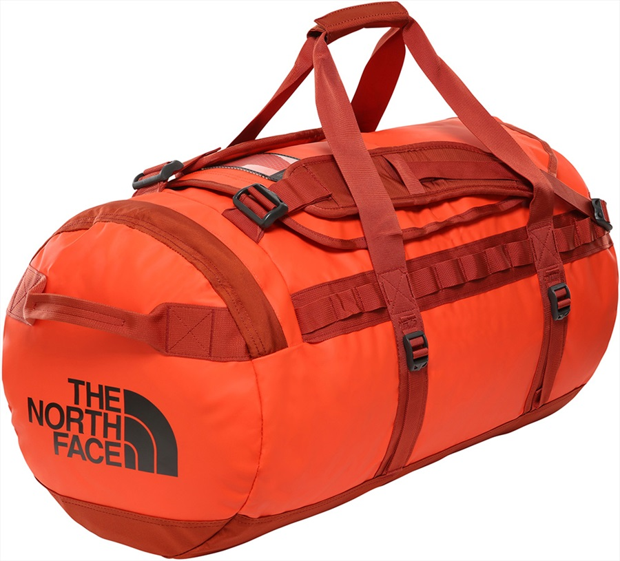 The North Face Base Camp Duffel Travel Bag M Acrylic Orange/Picant Red