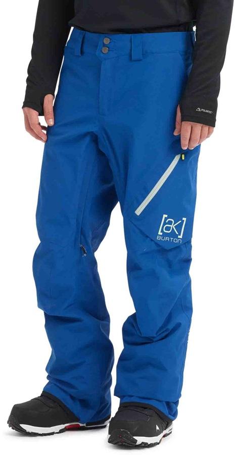 Burton [ak] 2L Cyclic Gore-Tex Ski/Snowboard Pants, M Classic Blue
