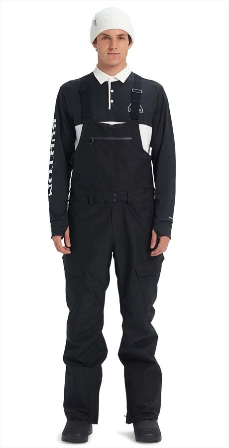 Burton Gore-Tex Reserve Bib Ski/Snowboard Pants, XXL True Black 2020