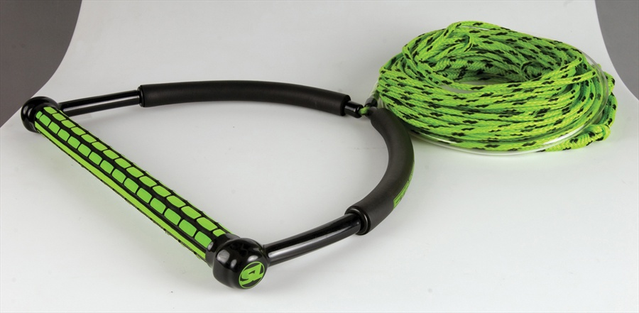 Straight Line TR9 | Static Wakeboard Handle Line Combo 65' Green