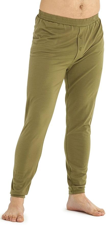 Burton Adult Unisex Midweight Merino Thermal Pant, M Martini Olive