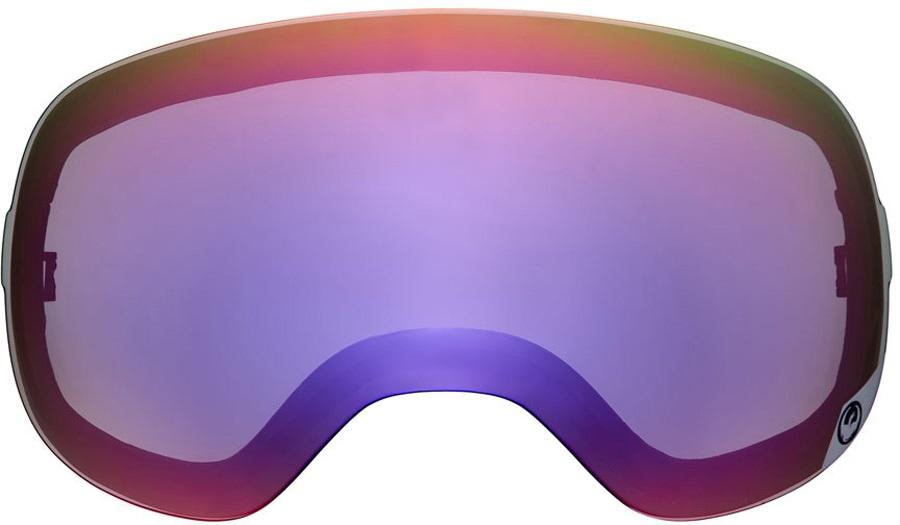 Dragon X2s Snowboard/Ski Goggle Spare Lens Purple Ionized