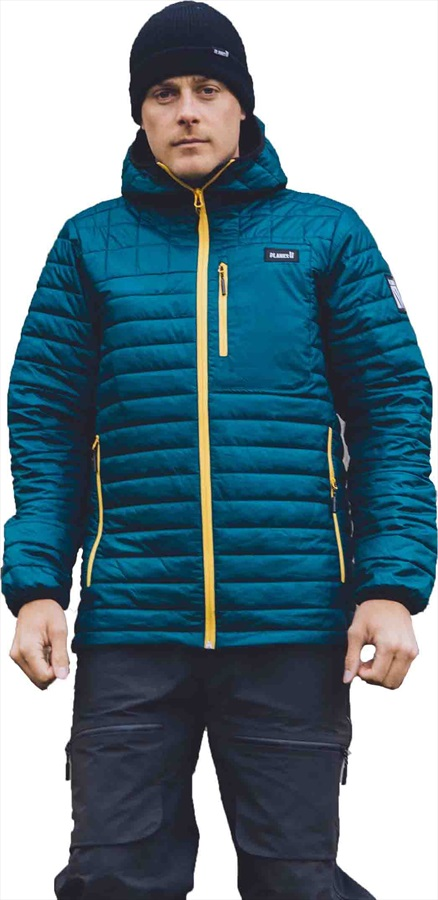 Planks Cloud 9 Insulator Insulated Mid-Layer Jacket, M Peacock