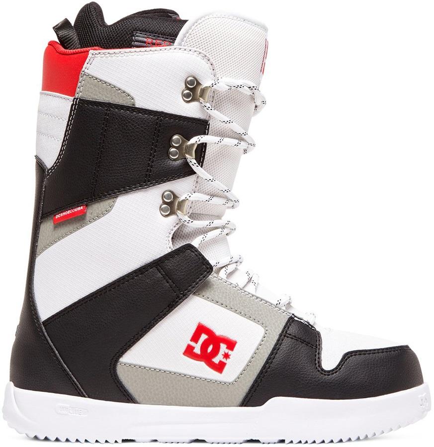 DC Phase Lace Snowboard Boots, UK 10.5 Black/White 2020