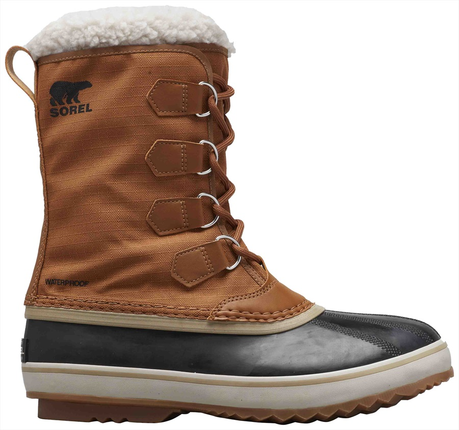 Sorel 1964 Pac Nylon Men's Snow Winter Boots, UK 8 Camel Brown/Black