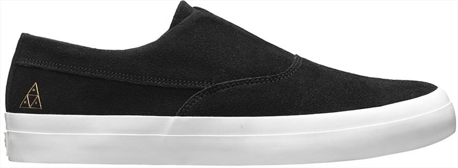 Huf Skateboard Shoes Dylan Slip On White//Black