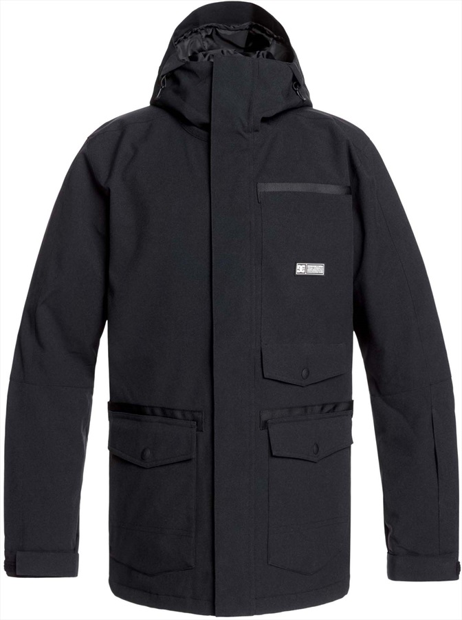 DC Servo Ski/Snowboard Jacket, M Black 2020