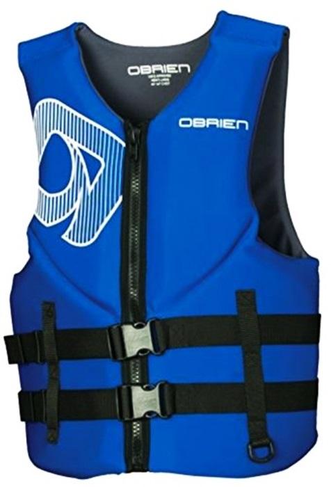 O'Brien Traditional Neo Ski Impact Vest Buoyancy Aid, XXXL Blue Grey