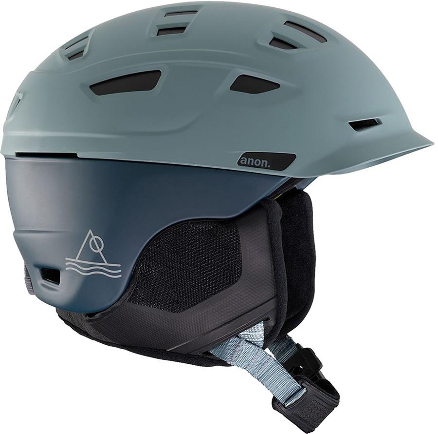 Anon Prime MIPS Ski/Snowboard Helmet, S Lay Black Grey