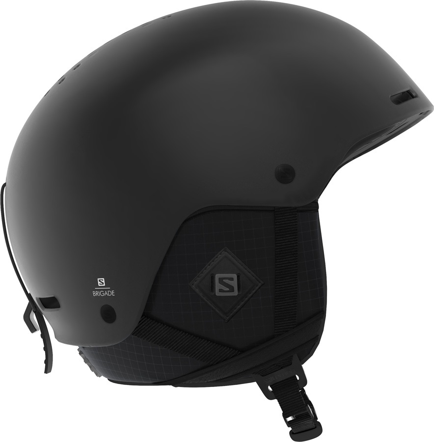 Salomon Brigade+ Snowboard/Ski Helmet, S All Black