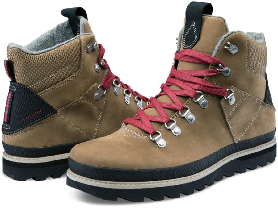 Volcom Outlander Men's Winter Boots, UK 9.5 Vintage Brown