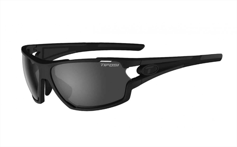Tifosi Amok Interchangeable Lens Sunglasses Matte Black