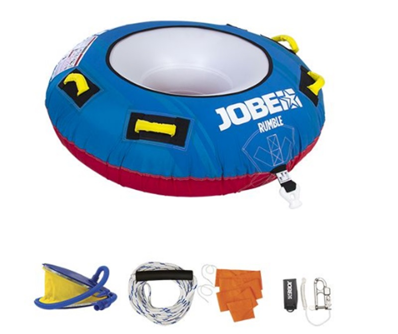 Jobe Rumble Towable Inflatable Tube Package 1 Rider 2019