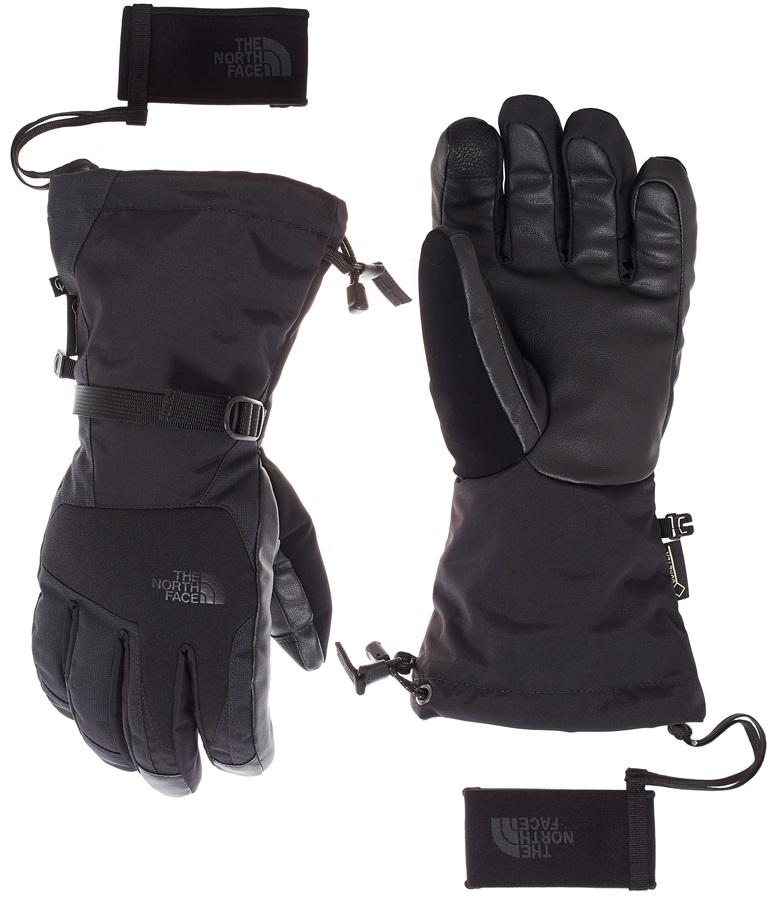 b0d5b40d01bd1 The North Face Powdercloud Etip Ski/Snowboard Gloves, M, Black