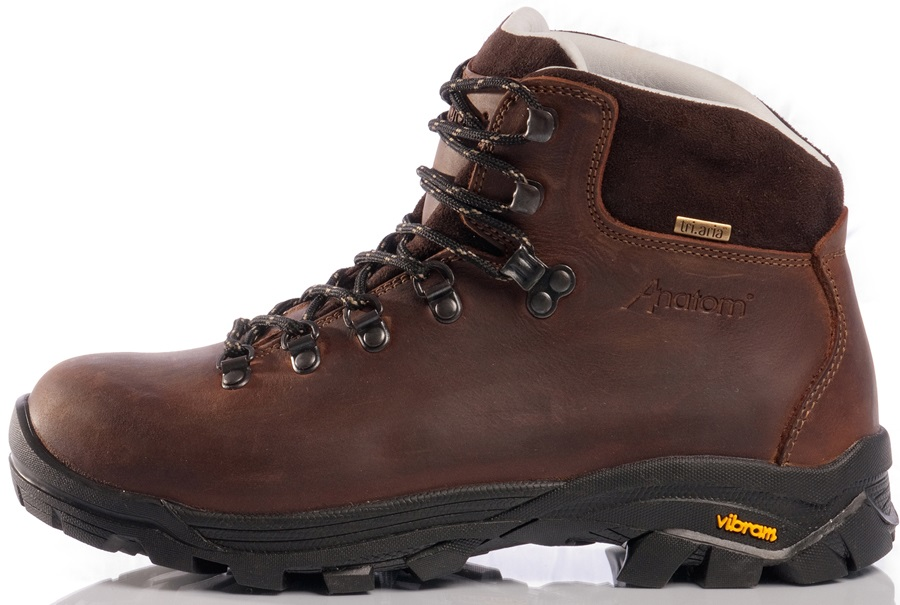 6d90251d898 Anatom Q2 Classic Men's Leather Hiking Boots, UK 9.5 Brown