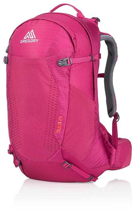 Gregory Womens Sula 24 Hiking Backpack, 24L Plumb Red
