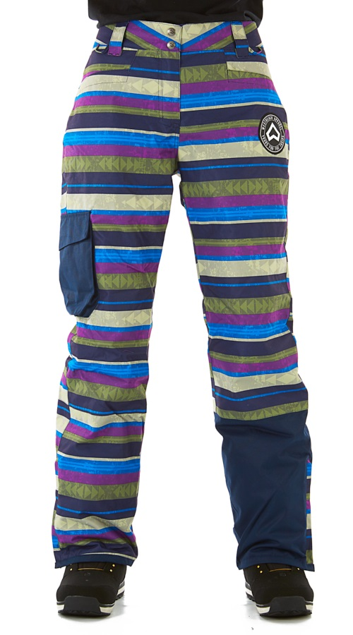 Westbeach Devotion Women's Ski/Snowboard Pants, XS Multi-Colour Aztec