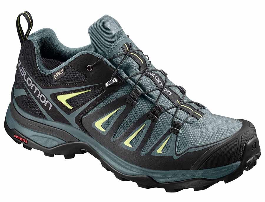 Salomon X ULTRA 3 GTX Walking Shoes, UK 4 ArcticDarkest Spruce