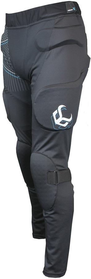 Demon Flex Force X D3O V2 Women's Ski/Snowboard Impact Pants, XL Black
