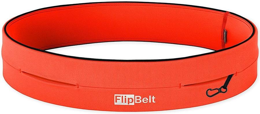 FlipBelt Classic Running Belt, XL Neon Punch