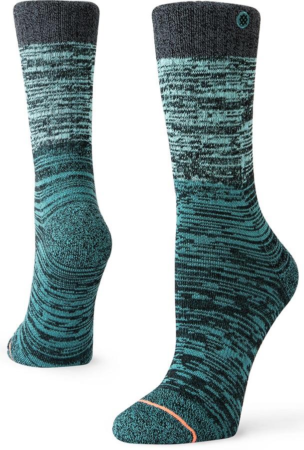 Stance Agate Outdoor Walking/Hiking Socks, S Teal