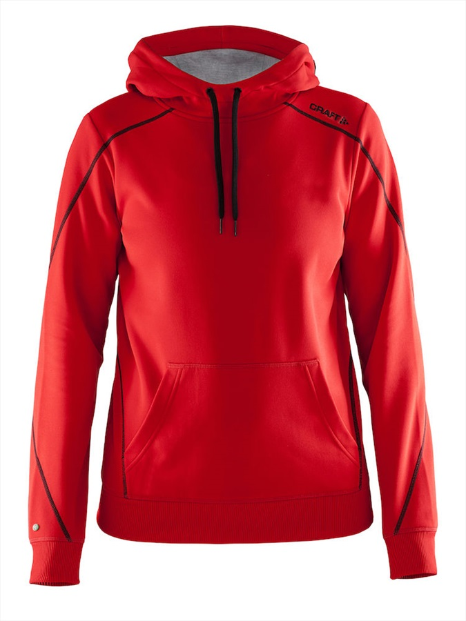 Craft In The Zone Women's Pullover Hoodie, M Red