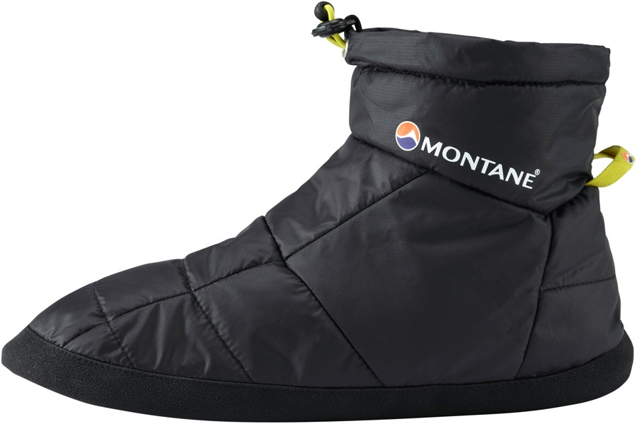 Montane Prism Bootie Insulated Camping Slippers M Black