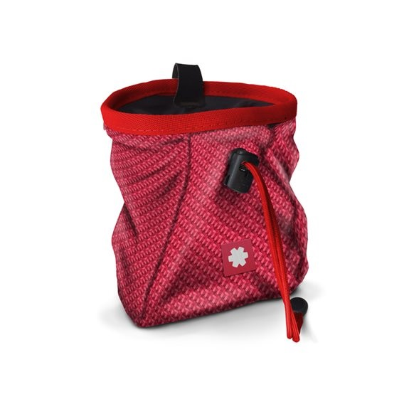 Ocun Lucky Rock Climbing Chalk Bag, Red Cult