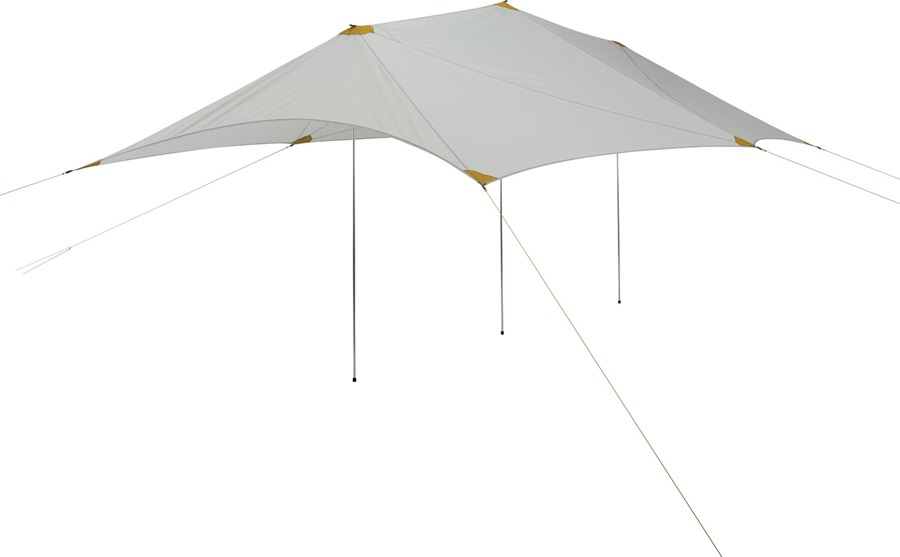 ThermaRest Tranquility 6 Wing Tarp Sun & Rain Camping Shelter, White