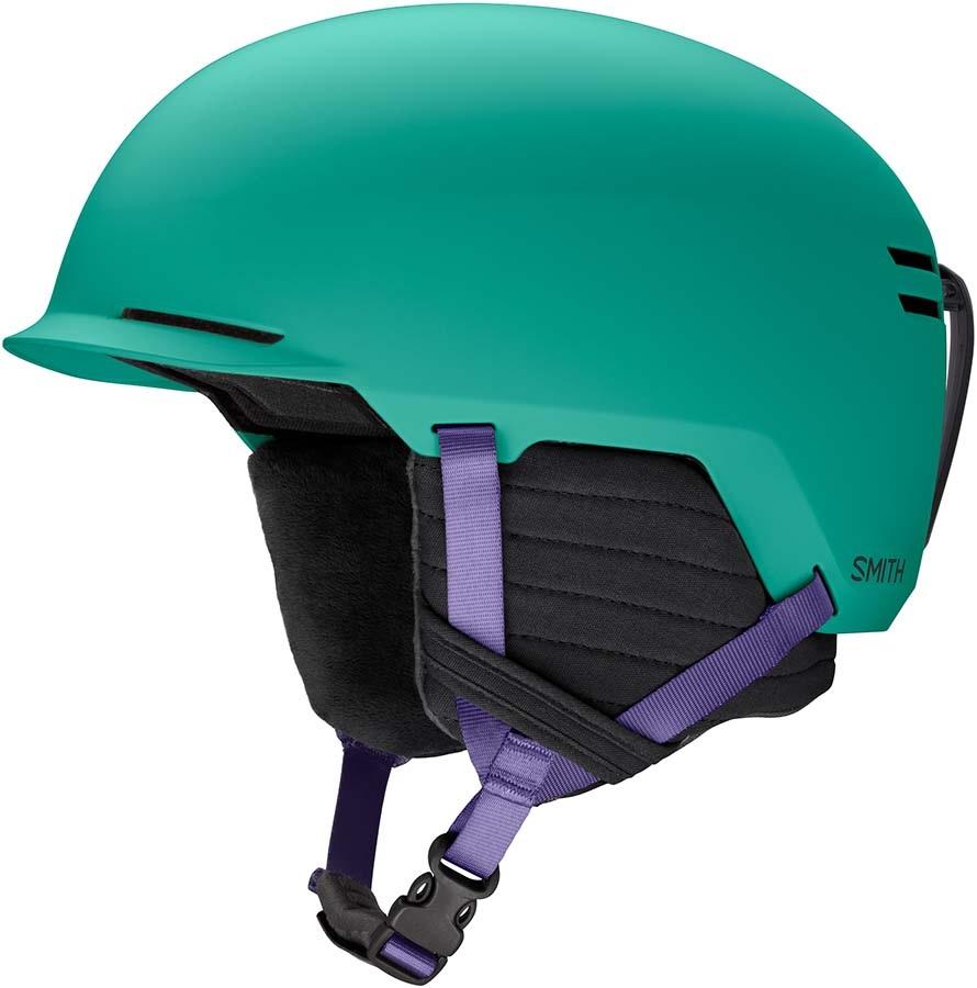 Smith Scout Snowboard/Ski Helmet, L Matte Jade Block 2020