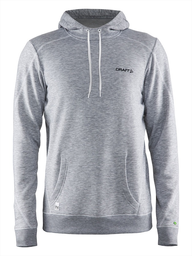 Craft Adult Unisex In The Zone Technical Pullover Hoodie, S Grey