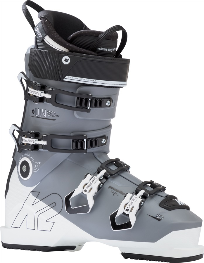 K2 Luv 80 MV Gripwalk Womens Ski Boots, 22/22.5 2019