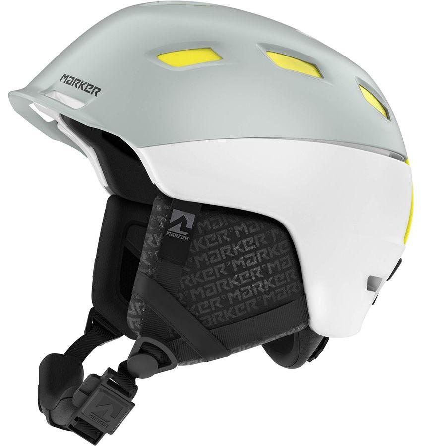 Marker Ampire Ski/Snowboard Helmet, M White