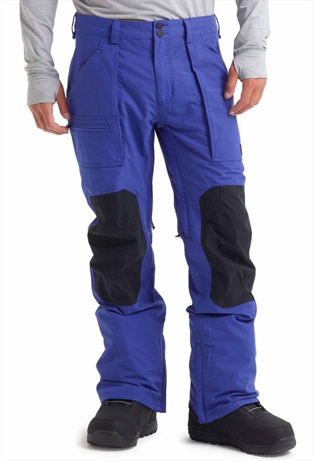 Burton Southside Slim Snowboard/Ski Pants, M Royal/True Black