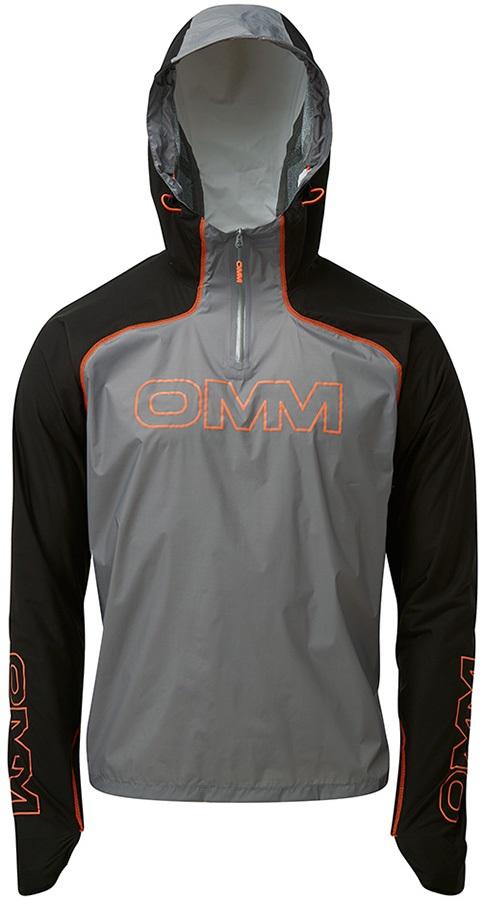 OMM KamLite Smock Waterproof Shell Jacket, S Black/Grey