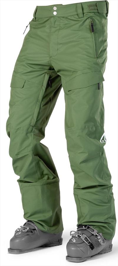 Wearcolour Tilt Snowboard/Ski Pants M Olive