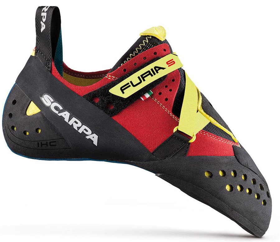 Scarpa Furia S Rock Climbing Shoe, UK 10.5 | EU 44.5 Parrot Yellow