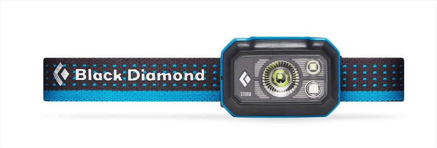 Black Diamond Storm375 LED Headlamp, 375 Lumens Azul