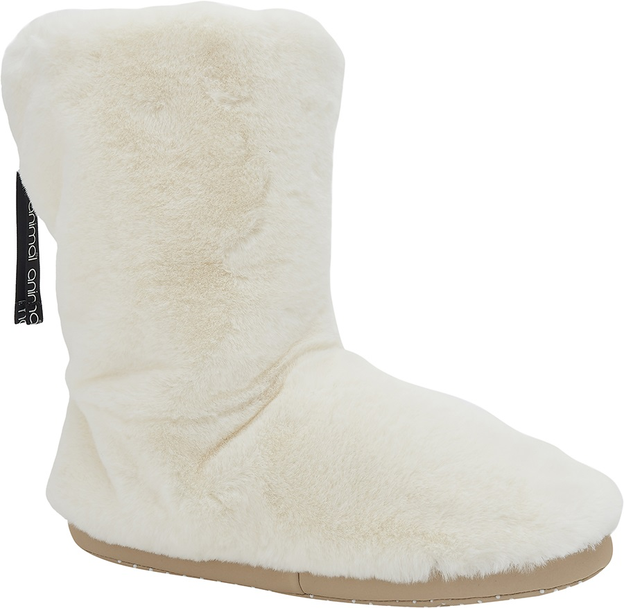 Animal Bollo Women's Slipper Boots, UK 5 Coconut Cream