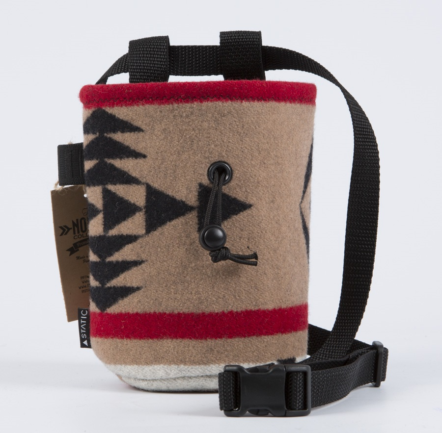 Static Nomad Rock Climbing Chalk Bag: Lone Wolf