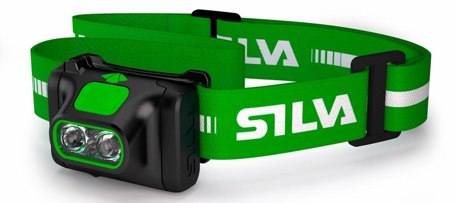 SILVA Scout X IPX5 Camping LED Headlamp, 270 Lumens Green