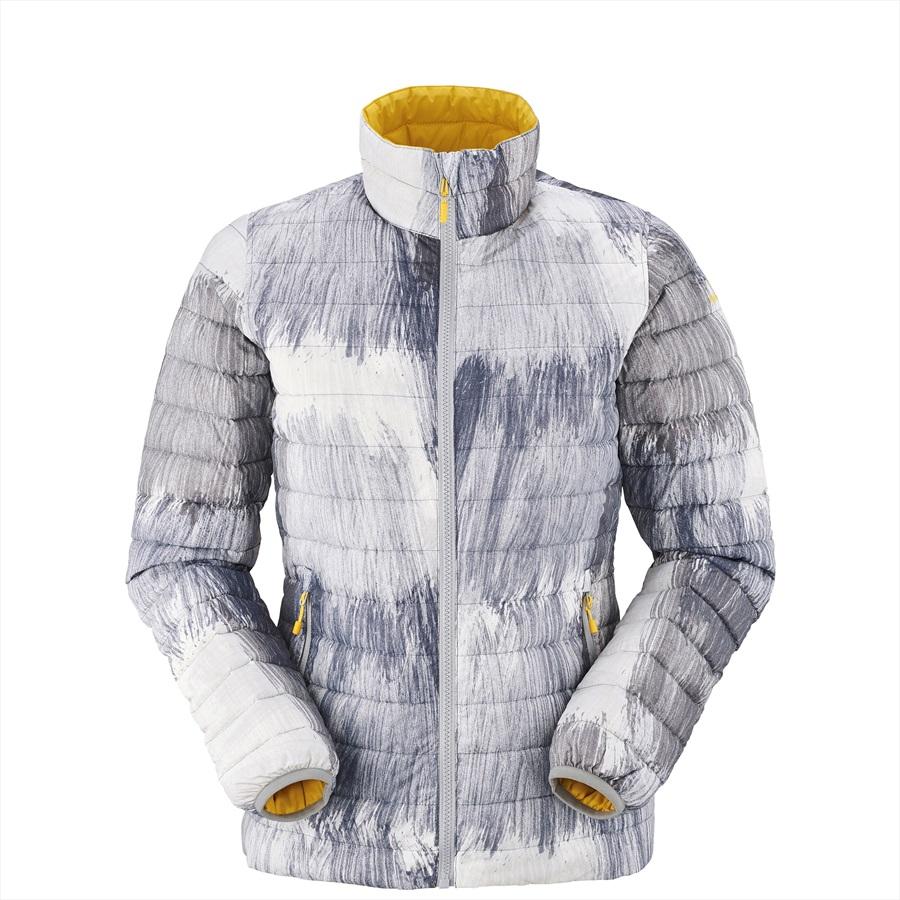 Eider Twin Peaks Reversible Women's Insulated Down Jacket, S, Grey