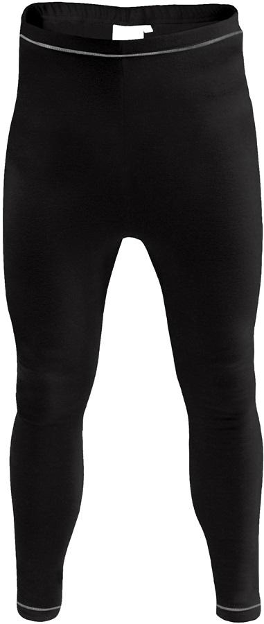 Manbi Supatherm Ski/Snowboard Thermal Leggings, XXL Black