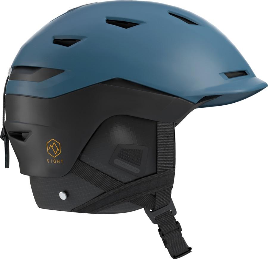 Salomon Adult Unisex Sight Snowboard/Ski Helmet, M Moroccan Blue/Black
