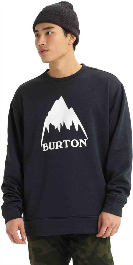 Burton Oak Crew Ski/Snowboard Sweatshirt, M True Black Heather