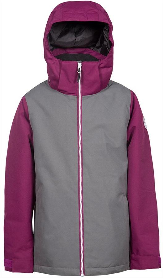 Wearcolour Mirror Youth Ski/Snowboard Jacket, 150cm RockGrey