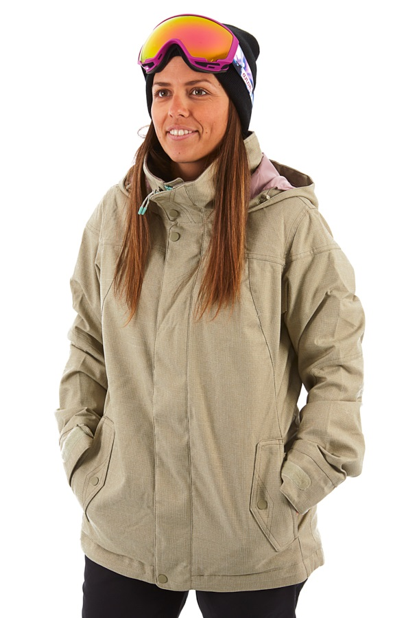 Burton Jet Set Women's Snowboard/Ski Jacket, M Hawk Heather