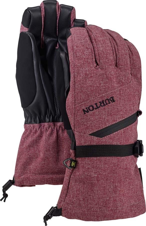 Burton Gore-Tex Women's Ski/Snowboard Gloves, S Port Royal Heather