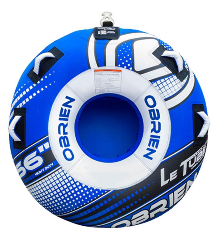 O'Brien Le Tube Deluxe Round Towable Inflatable Tube 1 Rider Blue 2019